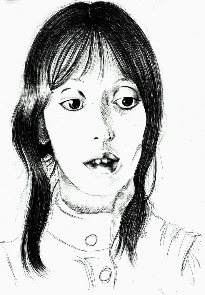 Shelley Duvall by AnaPisichiuta